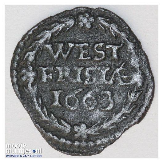 West-Friesland - Duit - 1702 (kant A)