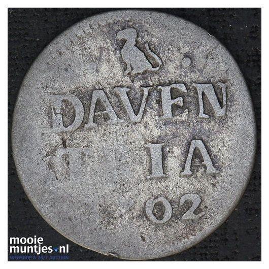 Deventer - Duit - 1617 (kant A)