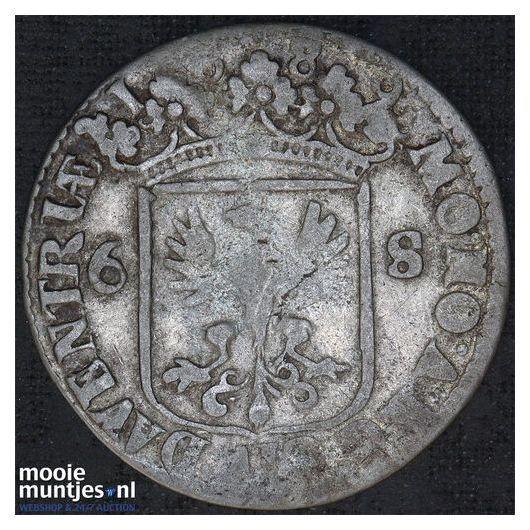 Deventer - Rijderschelling - 1685 (kant A)