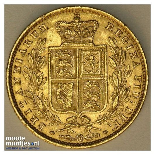 sovereign (guinea coinage) - Great Britain 1853 (KM 736.1) (kant B)