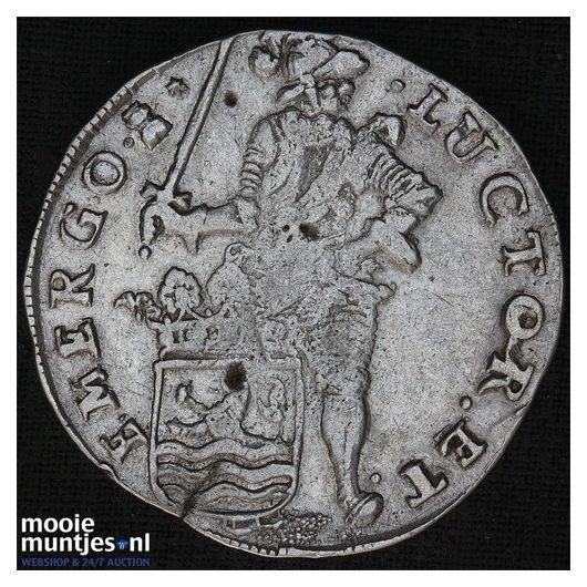 Zeeland - Achtste dukaat of Pietje - 1793 (kant B)