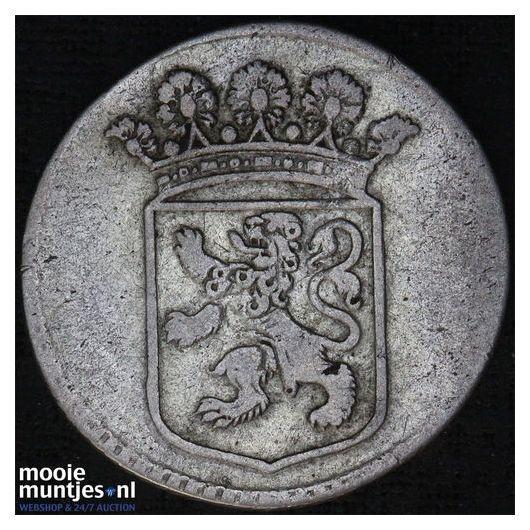 VOC duit - Holland - Netherlands East Indies 1760 (KM 70a) (kant B)