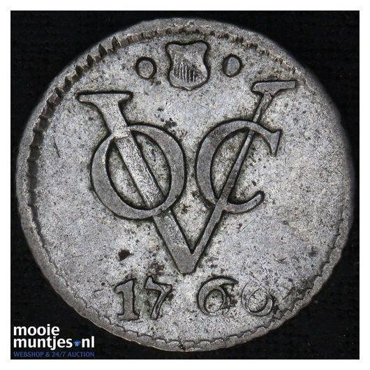 VOC duit - Holland - Netherlands East Indies 1760 (KM 70a) (kant A)
