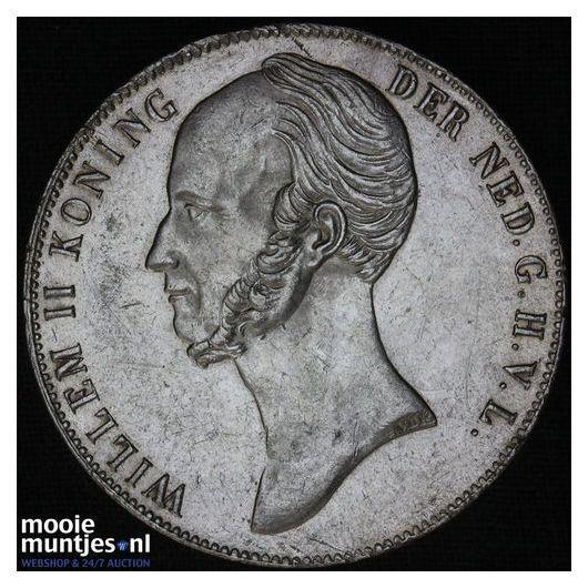 2½ gulden - Willem II - 1845 (kant B)