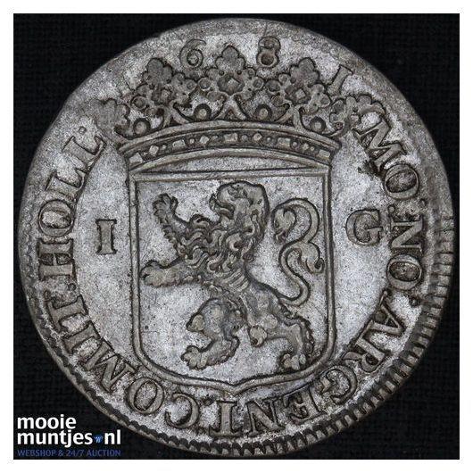 Holland - Provinciale gulden - 1681 (kant A)