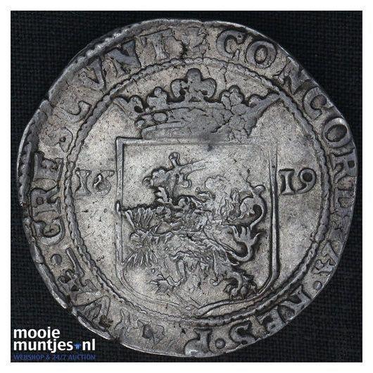 West-Friesland - Nederlandse rijksdaalder - 1619 (kant A)