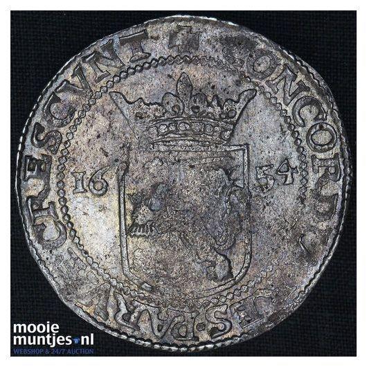 West-Friesland - Nederlandse rijksdaalder - 1654 (kant A)