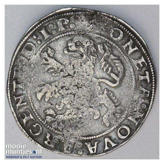 Holland - Zilveren duit - 1756 (kant B)
