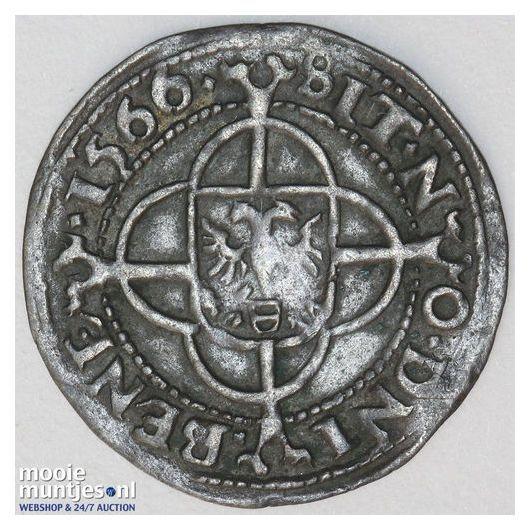 Stad Groningen - Achtste Brabantse of zesde Groninger stuiver of plak - 1566 (ka