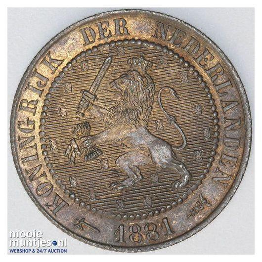 2½ cent - Wilhelmina - 1915 (kant A)