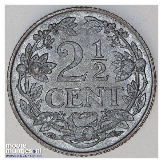 2½ cent - Wilhelmina - 1915 (kant B)
