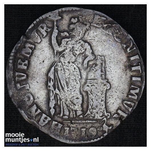 Overijssel - Gulden - 1736 (kant A)
