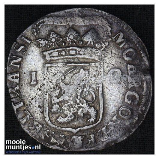 Overijssel - Gulden - 1736 (kant B)
