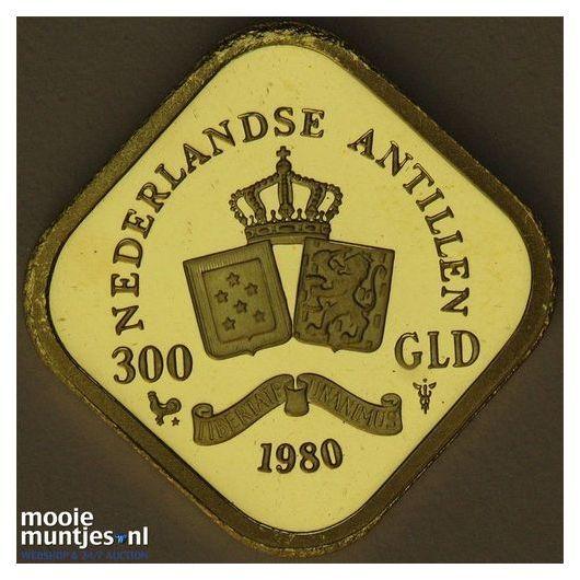 Nederlandse Antillen  - 300 gulden - 1980 PP (kant A)