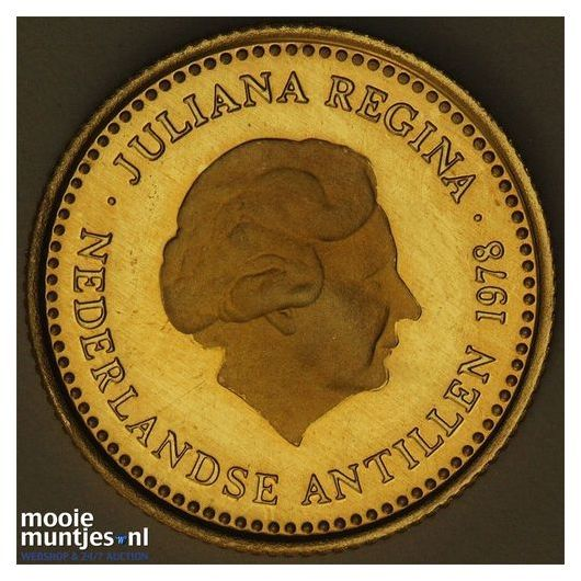 Nederlandse Antillen  - 100 gulden - 1978 PL (kant A)