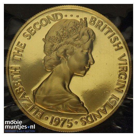100 dollars - British Virgin Islands 1975 Proof (KM 7) (kant A)