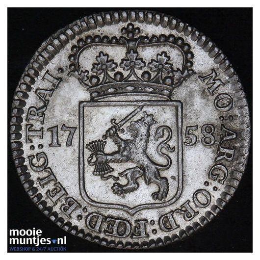 Holland - Duit - 1715 (kant A)