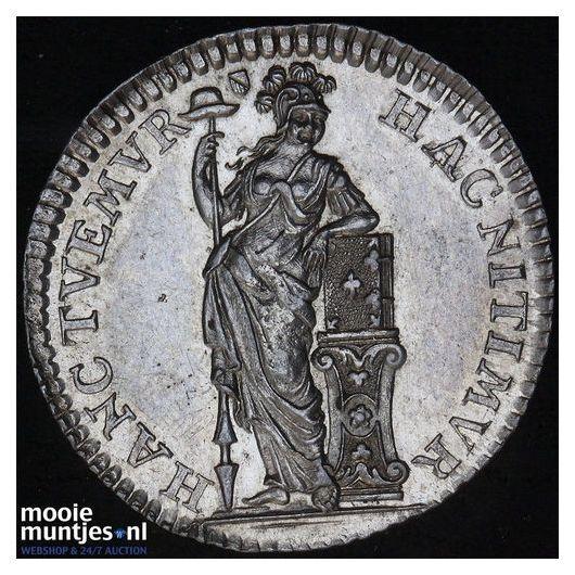 Holland - Duit - 1715 (kant B)