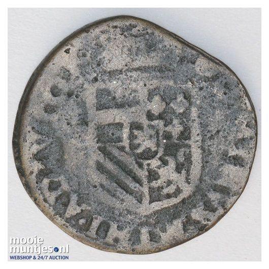 Brabant-Maastricht - Kwart stuiver of oord van 12 mijten - 1614 (kant B)
