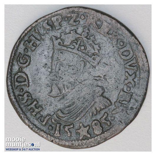 Brabant-Maastricht - Kwart stuiver of oord van 12 mijten - 1614 (kant A)