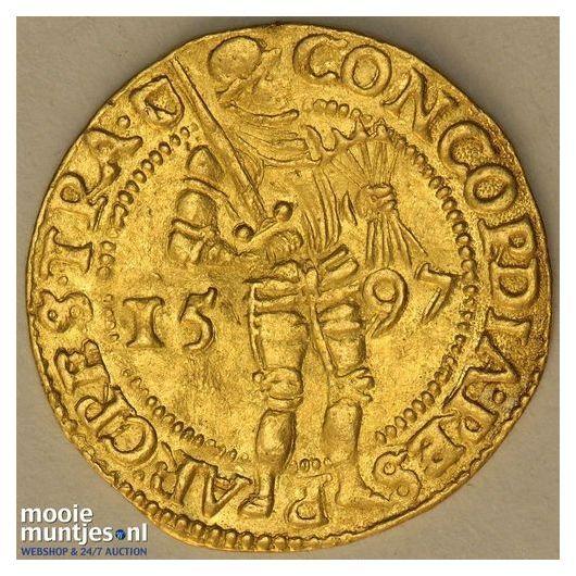 Utrecht - Gouden dukaat - 1597 (kant A)