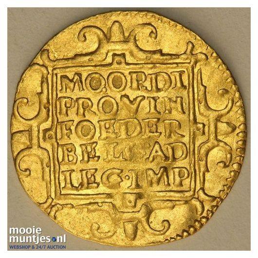 Utrecht - Gouden dukaat - 1597 (kant B)
