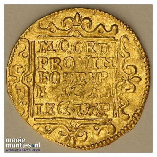 Gelderland - Gouden dukaat - 1651 (kant B)