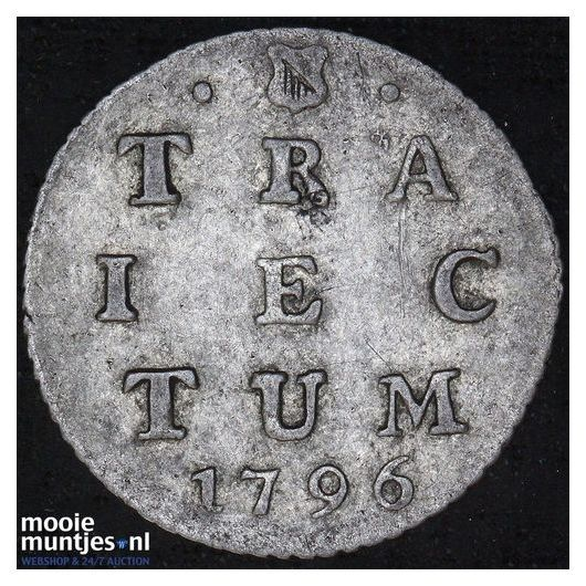 Utrecht - 2 stuiver - 1796 (kant A)
