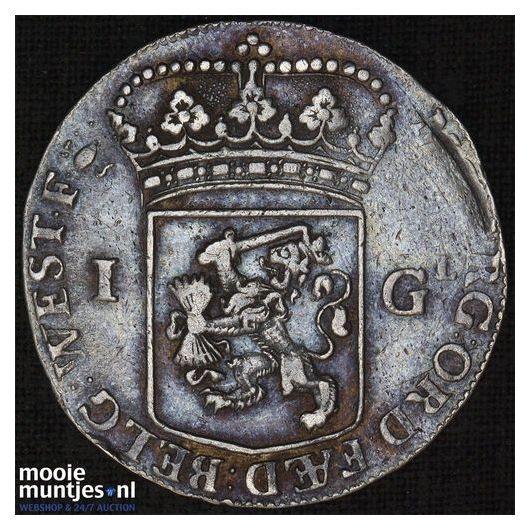 West-Friesland - Gulden - 1687 (kant B)