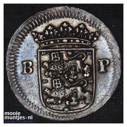 West-Friesland - Gulden - 1687 (kant B)