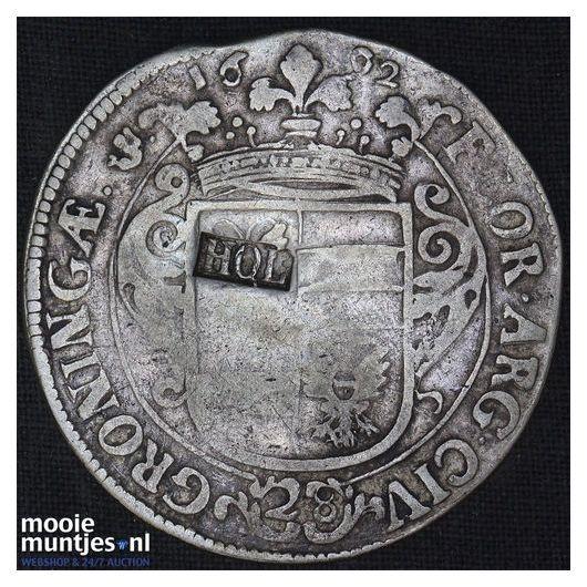 Stad Groningen - Florijn - 1692 (kant A)