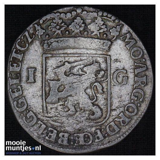 Nijmegen - Stedelijke gulden - 1687 (kant B)