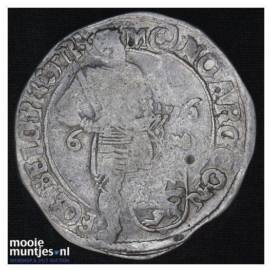 Overijssel - Zilveren dukaat - 1676 (kant A)