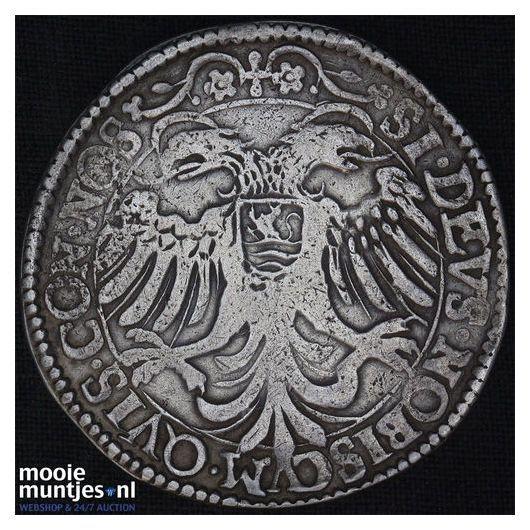 Overijssel - Zilveren dukaat - 1676 (kant B)
