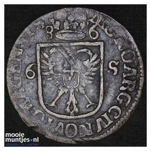 Nijmegen - Rijderschelling - 1686 (kant A)
