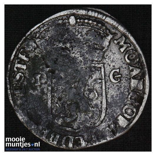 Gelderland - Gulden - 1734 (kant B)