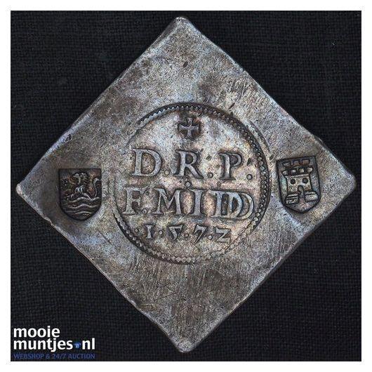 Middelburg - Daalder   - 1572 (kant A)