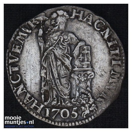 Gelderland - Gulden - 1786 (kant A)