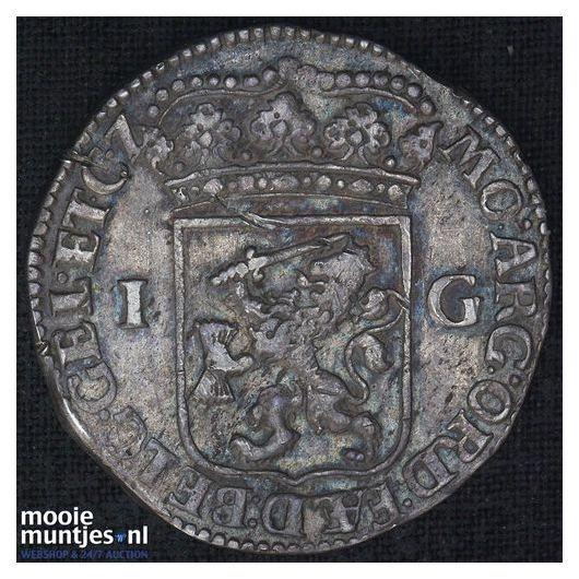 Gelderland - Gulden - 1786 (kant B)