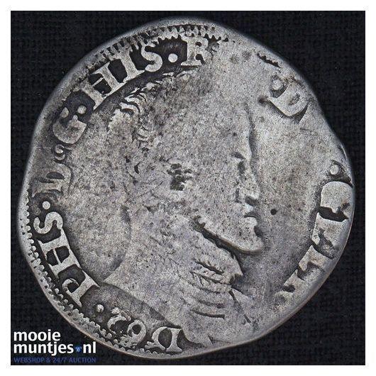 Gelderland - Tiende Philipsdaalder - 1562 (kant A)