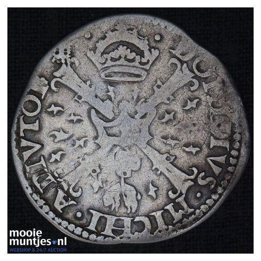 Gelderland - Tiende Philipsdaalder - 1562 (kant B)