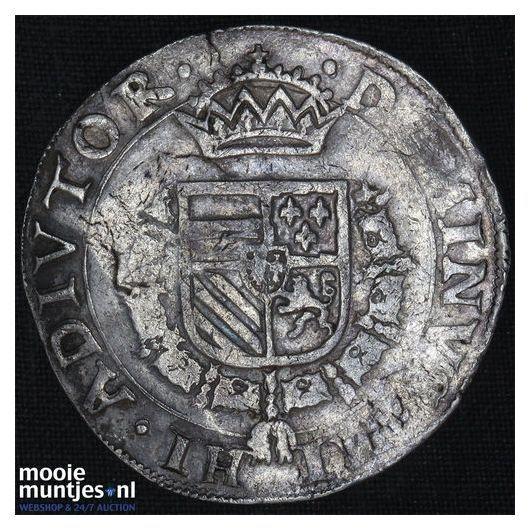 Brabant-Maastricht - Bourgondische kruisdaalder - 1567 (kant B)