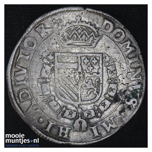 Brabant-Maastricht - Bourgondische kruisdaalder - 1568 (kant B)