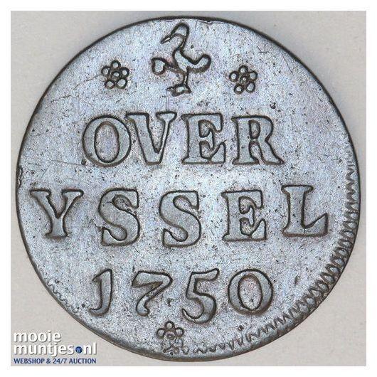 Overijssel - Zilveren rijder of dukaton - 1736 (kant A)