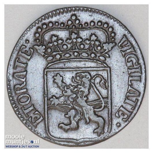 Overijssel - Zilveren rijder of dukaton - 1736 (kant B)