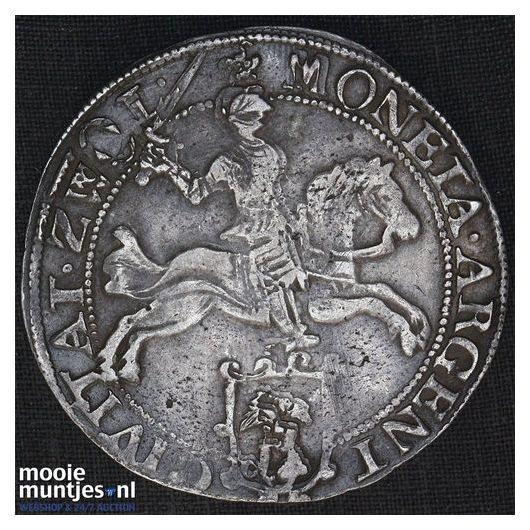 Zwolle - Zilveren rijder of dukaton - 1659 (kant B)