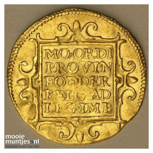 Utrecht - Gouden dukaat - 1587 (kant B)
