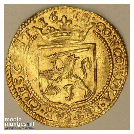 Gelderland - Halve gouden rijder, oud type - 1618 (kant A)