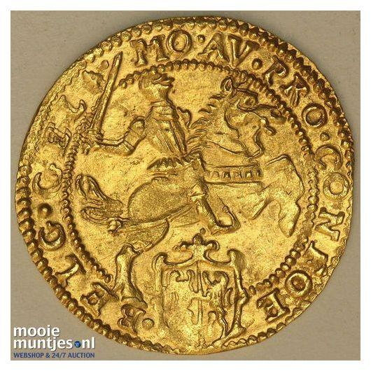 Gelderland - Halve gouden rijder, oud type - 1618 (kant B)