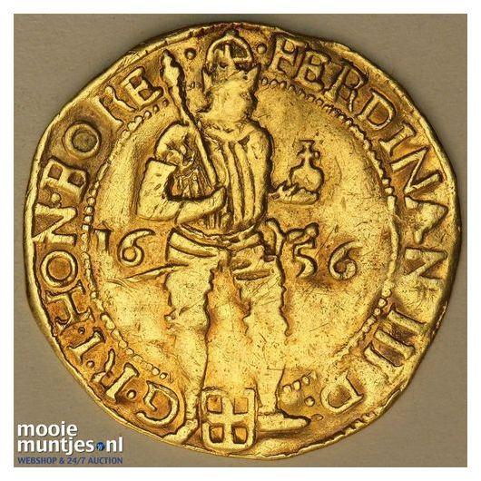 Zwolle - Dubbele gouden dukaat - 1656 (kant A)